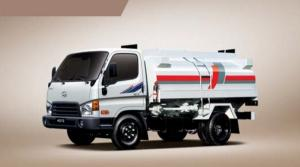 Топливозаправщик 4900 литров на базе грузовой машины Hyundai HD78, 2013 года