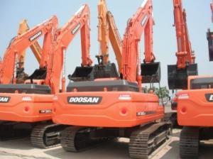 Гусеничный Экскаватор Doosan DX350LC