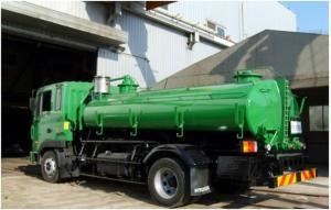 Ассенизаторская машина 8000 литров, и на базе грузовика Hyundai HD120 , 2013 год