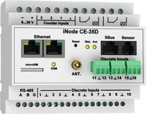 iNode CE-35D GSM - сетевой WEB / SNMP контроллер