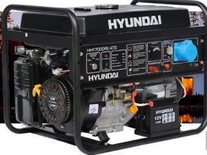 Генераторы бензиновые HYUNDAI HY и HHY