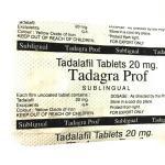 Сиалис Профессионал 20 мг (Тадагра ProF)