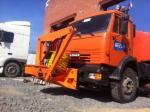 Установка для очистки дорожных ограждений «Lumipalo 3000»