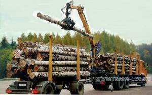 лесовоз с манипулятором
