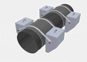 Утяжелители бетонные охватывающего типа для магистральных трубопроводов по ТУ 102-300-81