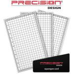 "Precision Design Защитная пленка для ЖК дисплеев 1.5""-5.0"" Precision Design Universal LCD Screen Protectors"