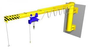 кран консольный настенный механический (электрический)