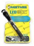 LED Телескопический фонарь с магнитом(3 светодиода+боковое зеркало) Partner