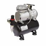 Миникомпрессор безмасляный (ресивер 3л, производительность 23л/мин, рабочее давление 3-4bar) Rotake