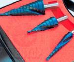 Наборы ступенчатых сверел Karnasch - Основные размеры, покрытие Bluedur
