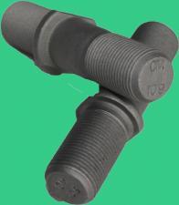 4320-3103009 Шпилька крепления колеса правая М20, ТЕФЛОН (НВ 10.9)