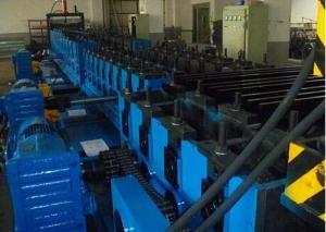 Линия производства кабельных лотков пазового типа