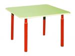 Стол детский квадратный регулируемый 1-3 гр. 700х700х460 (520, 580)мм арт.К