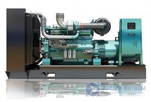 Дизельный генератор Weichai WPG550 (400 кВт)