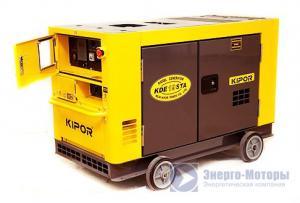 Дизельная электростанция (мобильный генератор) Kipor KDE16SS (13 кВт)
