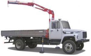 ГАЗ-33086 «Земляк» с манипулятором Fassi F50A.22