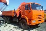 КАМАЗ-43118 с манипулятором Palfinger PK-23500A