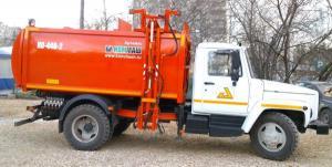 ГАЗ-3309 мусоровозы