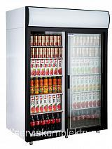 Холодильный шкаф купе POLAIR DM110Sd-S версия 2.0 V-1000 t+1…+10 °C