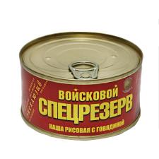 Каша рисовая с говядиной Войсковой Спецрезерв Золотая (325 гр.)