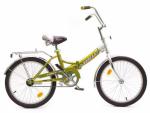 Велосипед двухколесный В2004 желтый