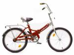 Велосипед двухколесный В2004 красный