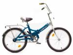 Велосипед двухколесный В2004 голубой