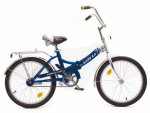 Велосипед двухколесный В2004 синий