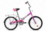 Велосипед двухколес,детский Радомир АВТ-2002 розовый