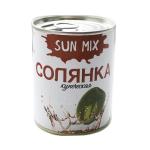 Солянка купеческая ГОСТ. Консервированные супы Sun Mix (338 гр.)