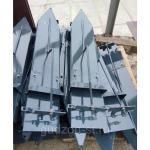 Приспособление лифтер для уборки подсолнечника (рядовой стеблеподъемник)