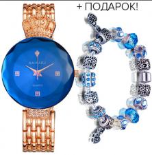 Комплект женские часы Баосали + браслет Пандора
