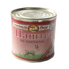 Паштет из оленины ТОЛЬКО ОПТОМ Семейный очаг (250 гр.)