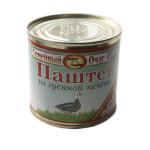 Паштет гусиный ТОЛЬКО ОПТОМ Семейный очаг (250 гр.)