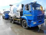 Автобетоносмеситель 58147A на шасси КАМАЗ-65115