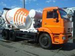 Автобетоносмеситель 58146W КамАЗ 65115