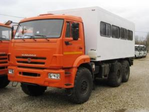 Вахтовый автобус на шасси КАМАЗ-5350