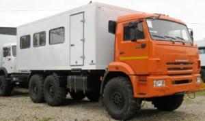 Вахтовый автобус на шасси КАМАЗ-43118