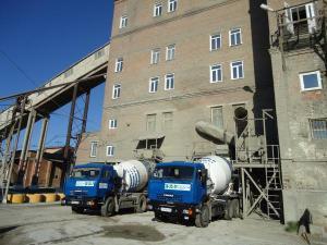 Бетоны тяжёлые марка по прочности М50÷М550, гидротехнические W2÷W10, морозостойкие F50÷F300, лёгкие (керамзитобетон), мелкозернистые (на песке, на отсеве).