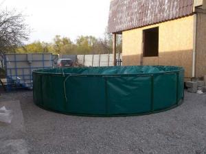 Бассейны круглые для рыборазведения объем 12,6 м3 ПВХ, каркасный, разборной в Белгороде