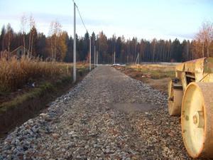 Устройство временных дорог