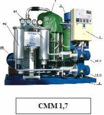 Cтанция масляная мобильная для обработки масел СММ-0,6