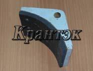 Колодка для тормоза типа ТКГ (ТКП, ТКТ)