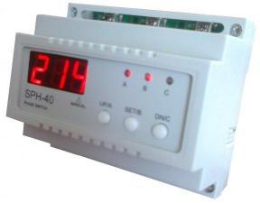 SPH-40 Автоматический переключатель фаз