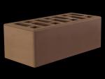 Кирпич облицовочный керамический коричневый полуторный Старооскольский