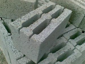Блоки мелкоштучные керамзитобетонные четырёхкамерные КБС-30 40х20х20