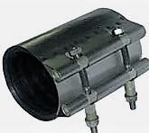 Муфта свёртная ремонтная нержавеющая DN100 L200