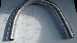 Трубка забора воздуха для горения d=21,4 (400 мм) 1314854А