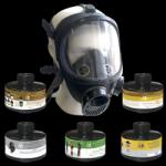 Противогаз промышленный фильтрующий ППФ-95 марки А2В2Е2Р3D