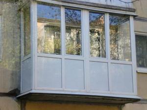 Остекление балконов и лоджий под ключ.